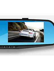 4.3 Inch HD Screen Single Lens Rearview Mirror Tachograph