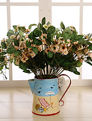 Hi-Q 1Pc Decorative Flower Jasmine Flower Wedding Home Table Decoration Artificial Flowers