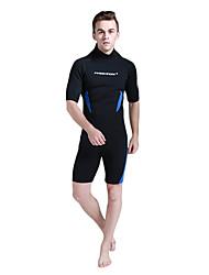 Men's 3mm Wetsuit Skin Shorty Wetsuits Anatomic Design Neoprene Diving Suit Short Sleeve Diving Suits Shorts-Diving