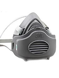 3M lucido polveri industriali a prova di gomma speciale mezza maschera