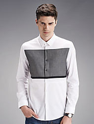 Autumn new shirt cotton men's shirts wash and wear business men's wear long sleeve white shirt SY-1877