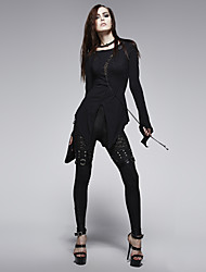 vintage / BODYCON calças skinny fina micro-elástica do punk delírio k-205 das mulheres