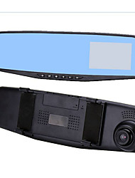 The Anti Dazzling 2.4 Inch Car Rearview Mirror Tachograph 1080P HD Screen