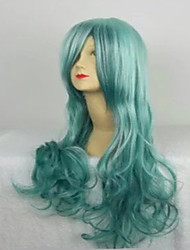 4 Colors Cosplay Wigs Long  Loose Wavy Harajuku Ombre Wig Synthetic Wigs Halloween Party  Wig Hair
