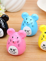Korean Version Of The Cute Little Mouse Pencil Sharpener Pencil Sharpener Cartoon Pencil Pupils Prizes