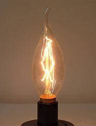c35l 40w e14 edison lâmpada de halogéneo lâmpada luz retro vintage retro industrial (AC220-240V)