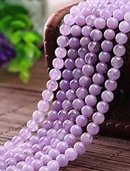 Pulseiras Pulseiras Strand Cristal Forma Redonda Fashion Diário Jóias Dom Púrpura,1pç