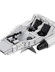 Puzzles Puzzles en Métal Building Blocks DIY Toys Porte-avions 1 Métal Argenté Maquette & Jeu de Construction
