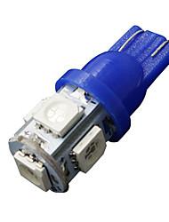 10 x ultra bleue t10 5-SMD 5050 conduit les ampoules de l'éclairage intérieur W5W 2825 158 192 194 168