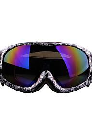 les hommes et les femmes des lunettes de ski alpinisme lunettes double miroir anti-buée xh-002 anti-explosion vent
