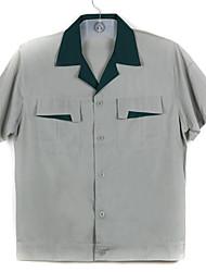 Kurzhülse Sommer Kurzarm-T-Shirt mit Schweiß Overall Arbeits-Kleidung (180 verkauft)