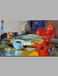 Pintados à mão Vida Imóvel Horizontal,Moderno 1 Painel Tela Pintura a Óleo For Decoração para casa