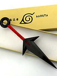 Weapon / Sword Inspired by Naruto Naruto Uzumaki Anime Cosplay Accessories Weapon White / Red PVC Male