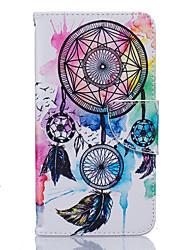 Pour Coque Nokia Portefeuille Porte Carte Antichoc Etanche à la Poussière Avec Support Coque Coque Intégrale Coque Attrapeur de rêves
