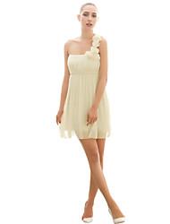 sexy um ombro pescoço flores femininas joannekitten® alta vestido ascensão