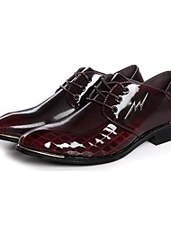 Westland® Men's Oxfords Comfort / Pointed Toe Patent Leather Office & Career / Party & Evening / Casual Low Heel
