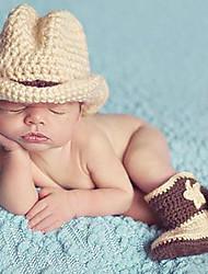 Fille Garçon Chapeaux & Bonnets,Toutes les Saisons Coton Tricot roman