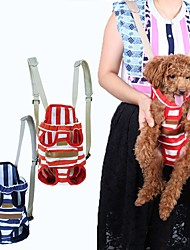 Cat / Dog Carrier & Travel Backpack / Front Backpack Pet Carrier Portable / Breathable Red / Blue Fabric