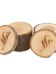 2 Stück / Set Geschenke Halter-Zylinder Holz Geschenkboxen Geschenk Schachteln Nicht personalisiert