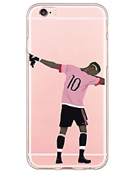 Pour Coque iPhone 7 Coques iPhone 7 Plus Coque iPhone 6 Coques iPhone 6 Plus Coque iPhone 5 Ultrafine Translucide Coque Coque Arrière