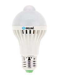 E26 / e27 5w ampoules à bulles led a60 12 smd 5730 400-500 lm capteur blanc cool décoratif ac 220-240v 1 pcs