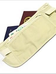 viajar, ajuste perfecto escondido bolsillos ultrafinos de documentos al aire libre paquete de pasaporte bolso de la cartera