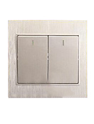 86 Wall Socket Panel 2 League Two Open Double Switch