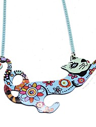 Necklace Acrylic Pattern 2016 News Collar Pendant Accessories Animal Fashion Jewelry Famous Brand Unique