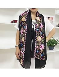 Damen Leinen Schal