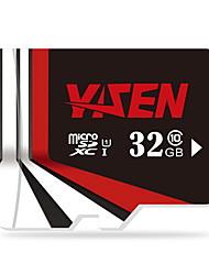 yisen 32gb UHS-I u1 / класс 10 MicroSD / MicroSDHC / microsdxc / tfmax чтения speed80 (Мб / с)