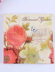 100% virgin pulp 20pcs Flower Wedding Napkins