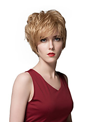 Hot Layered Short Straight Capless Human Hair Wigs