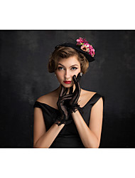 Women's Tulle / Flax / Net Headpiece-Special Occasion Fascinators 1 Piece