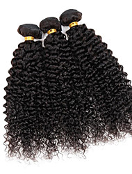 "Brazilian Kinky Curly Hair Weaves 8""-30"" 3Pcs/lot Brazilian Kinky Curly Human Hair Bundles No Tangle No Shed"
