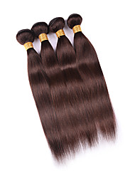 7A Malaysian Virgin Hair Straight 4 Bundles Human Hair Extension Wholesale Remy Malaysian Natural Straight Hair