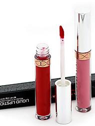 Beverly Hills della durata di 24 ore, non strofinare opaco impermeabile rossetto lip gloss liquido (10 selezionare il colore)