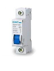 disjuntor miniatura circuito (disjuntor corrente nominal: 25a, dz47-60 1p c25)