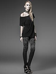 le punk rave k-181 millésime femmes / moulantes extensible pantalon skinny moyennes