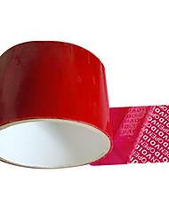 красный цвет пластикового материала упаковки&доставка клейкая лента