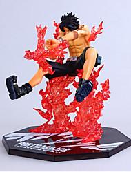 une seule pièce la version de combat zéro feu croisé d'as animé modèle figurines jouets
