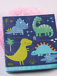 100% virgin pulp 20 pcs Dinosaur Napkins