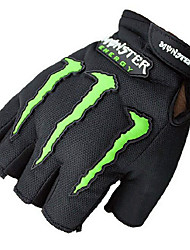 Ghost Claw Semi Finger Gloves Bike Riding Gloves Motorcycle Gloves