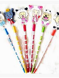 étrange nouvelle. papeterie korean agréable crayon crayon dessin animé crayon mignon