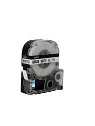 jin rubans d'étiquettes sr230ch gong jin gong 6mm 6mm noir et blanc intérieur