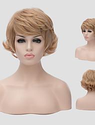europe et aux états-unis un nouveau style de cheveux courts cheveux pelucheux perruques perruque synthétiques