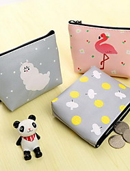 Square COINS Cartoon PU Leather Wallet Zero