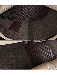 Alto grau cercado por bobina de fio de couro do carro dupla dupla utilização esteiras a Great Wall Hover tapete h6
