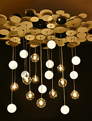 1.5 Pendant Light ,  Modern/Contemporary Others Feature for Designers Metal Living Room / Bedroom / Dining Room