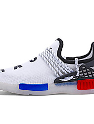 Garçon-Décontracté-Noir Blanc-Talon Plat-Confort Light Up Chaussures-Baskets-Tulle