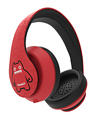 MEKI Devil Cat-6 Casques (Bandeaux)ForLecteur multimédia/Tablette / OrdinateursWithAvec Microphone / DJ / Règlage de volume / Radio FM /